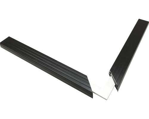 Eckverbinder 90 Grad für Isostep-Schiene inkl. Schraube Pack a 4 Stück