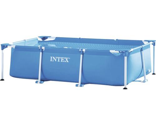 Aufstellpool Intex Small Metal Frame 220 x 150 x 60 cm PVC blau
