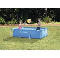 Aufstellpool Frame Pool Set Family 260 x 160 x 65 cm blau