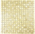 Natursteinmosaik XAM 47 30x30 cm Gold