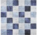 Glasmosaik XCM Moon26 29,8x29,8 cm Blau