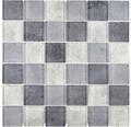 Glasmosaik XCM Moon24 29,8x29,8 cm Grau