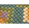 Glasmosaik Cuba MC2 31,10x24,60 cm mix grün matt