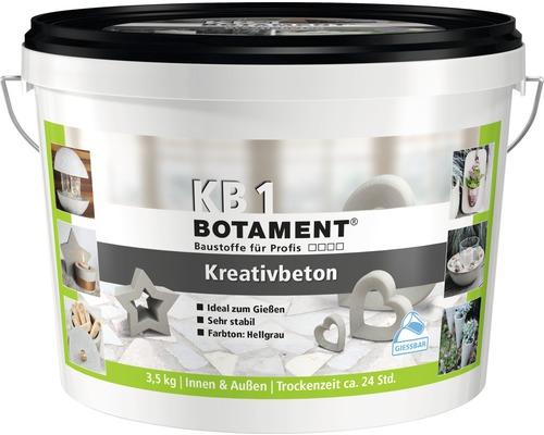 BOTAMENT Kreativbeton 3,5 kg