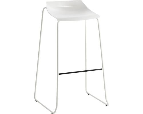 Barhocker Mayer Sitzmöbel myPurism 1159-12-688 36x53x90 cm Gestell weiß Sitz weiß
