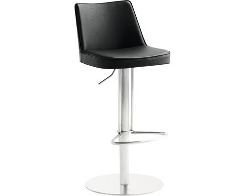 Barhocker Mayer Sitzmöbel myIcona 1233-37 37x42x78-103 cm schwarz