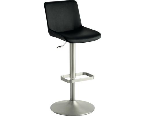 Barhocker Mayer Sitzmöbel myDivo 1235-567 38x44x85-109 cm Gestell chrom Sitz schwarz