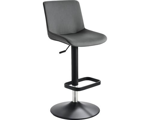 Barhocker Mayer Sitzmöbel myDivo 1235G-03-564 38x44x85-109 cm Gestell schwarz Sitz grau