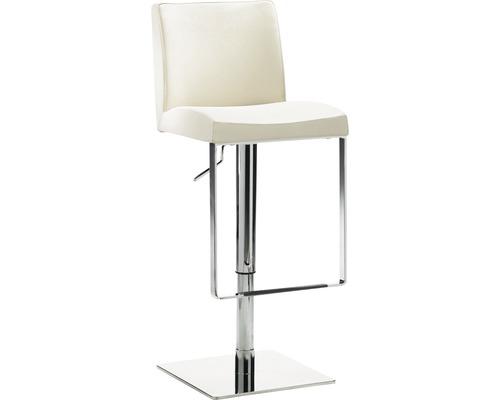 Barhocker Mayer Sitzmöbel myBreak 1260-34 36x40x87-110 cm Gestell chrom Sitz beige
