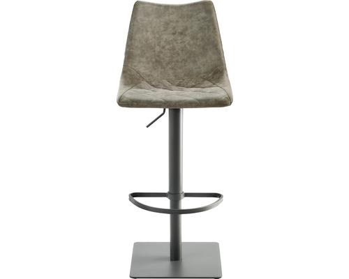 Barhocker Mayer Sitzmöbel myToby 1275-14-545 39x43x85-110 cm Gestell grau Sitz schlamm