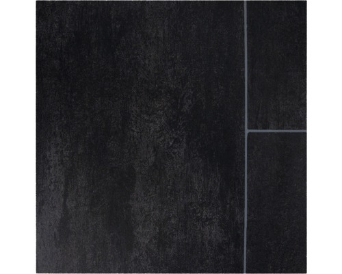 PVC Narvi Fliesenoptik schwarz 400 cm breit (Meterware)