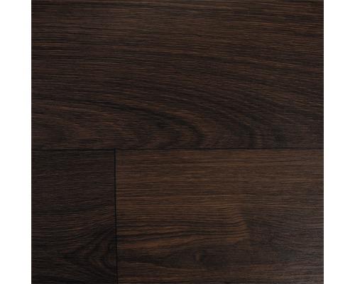 PVC Mimas Stabparkett dunkelbraun 400 cm breit (Meterware)