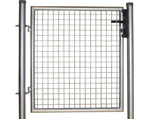 Wellengittertor 100 x 80 cm, feuerverzinkt