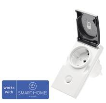Popp Zwischenstecker Smart Outdoor Plug IP44 - Kompatibel mit SMART HOME by hornbach