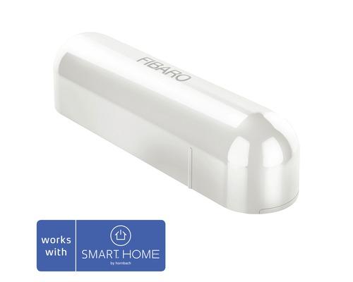 Fibaro Tür- und Fensterkontakt mit Temperatursensor weiß - Kompatibel mit SMART HOME by hornbach