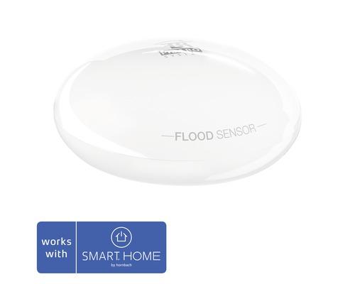 Fibaro Wassermelder mit Temperatursensor - Kompatibel mit SMART HOME by hornbach