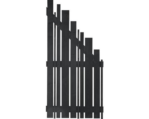 Abschlusselement Konsta Various rechts 90x180/90 cm anthrazit