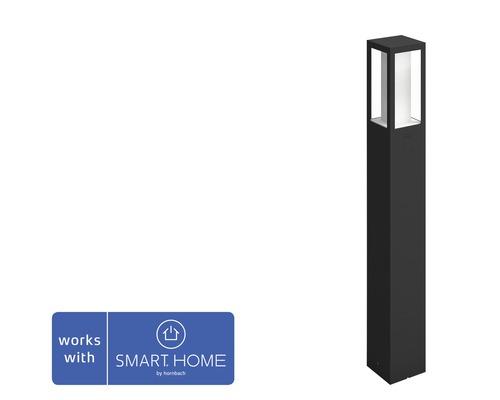 Philips hue LED Wegeleuchte Impress White & Color Ambiance 8W 1200 lm schwarz H 770 mm - Kompatibel mit SMART HOME by hornbach
