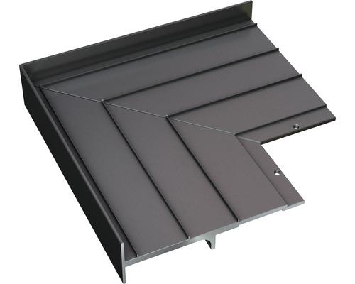 Terrassenlager Befestigungsaufsatz Eck-Fix 2-teilig inkl. Bohrschraube