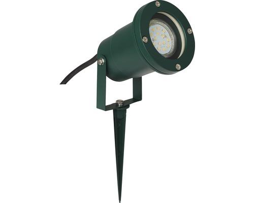 Erdspieß IP44 1-flammig H 285 mm Frasco metall/glas grün