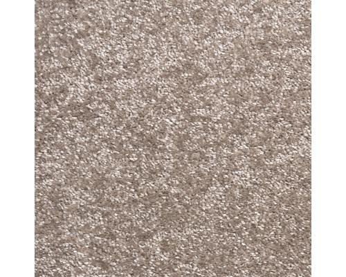 Teppichboden Kräuselvelours Rhea taupe 500 cm breit (Meterware)