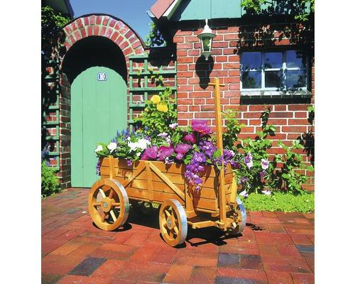Deko-Bollerwagen 104 x 49 x 51 cm Holz