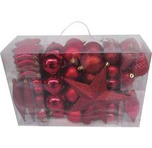 Lafiora 104er Pack Kunststoffkugeln mix rot
