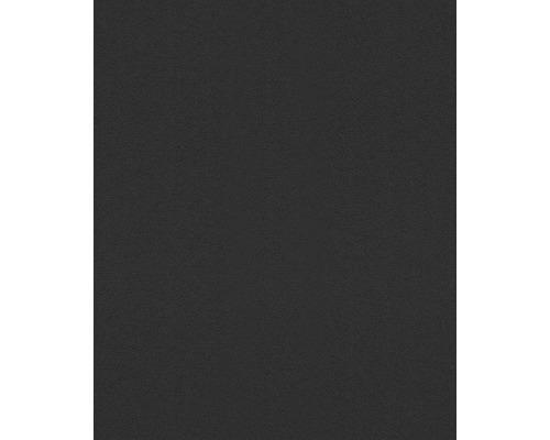 Vliestapete Modern Art Uni schwarz