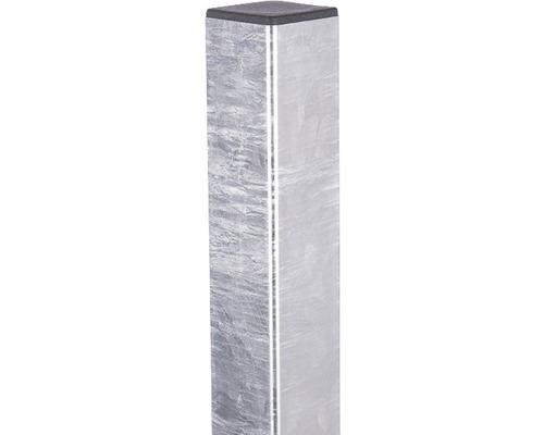 Torpfosten Stabgiitter 6x6x210 cm feuerverzinkt