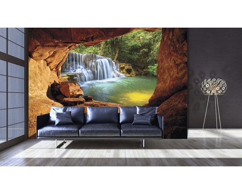 Fototapete 11978v4 Vlies Blick Auf Wasserfall 254x184 Cm Bei Hornbach Kaufen