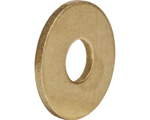 Unterlegscheibe DIN 9021, 17 mm Messing, 100 Stück