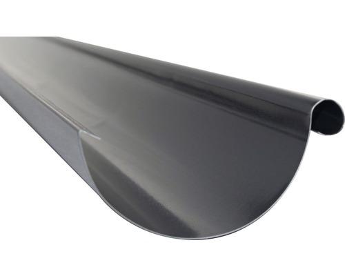 Precit Dachrinne anthracite grey RAL 7016 NW 125mm Länge: 2,00m Größe 280