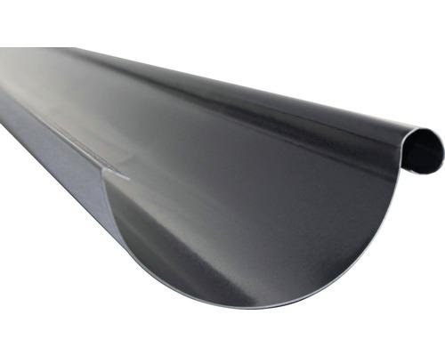 Precit Dachrinne anthracite grey RAL 7016 NW 125mm Länge: 4,00m Größe 280