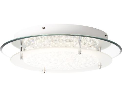 LED Deckenleuchte dimmbar 1x16W 1800 lm 3000K-6000K warmweiß-tageslichtweiß Ø 360 mm Jolene chrom matt mit Fernbedienung 1-flammig