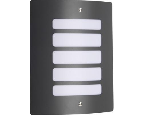 Außenwandleuchte IP44 1-flammig HxBxT 290x240x90 mm Gordy anthrazit grau Metall