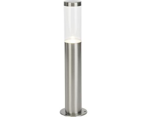 LED Außensockelleuchte IP44 4W 345 lm 4000 K neutralweiß HxØ 400x100 mm Bryn edelstahl gebürstet Metall