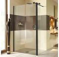 Walk In Duschwand Breuer Entra 120 cm Klarglas Profilfarbe schwarz
