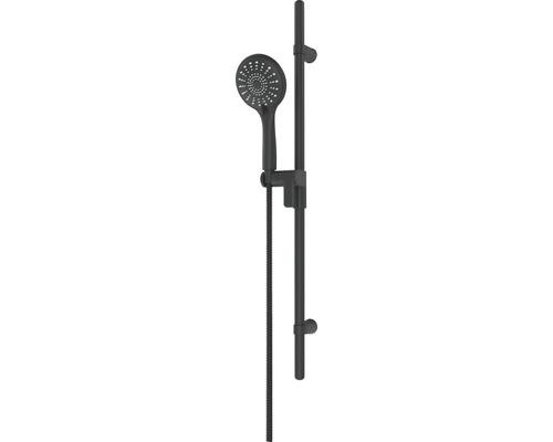 Brausegarnitur AVITAL Zilma Brausestangenlänge 80 cm matt schwarz
