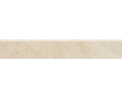 Sockel Udine beige unglasiert 9,5x60 cm