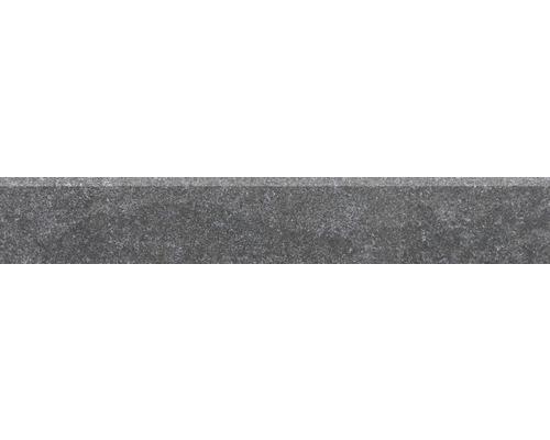 Sockel Udine schwarz unglasiert 9,5x60 cm