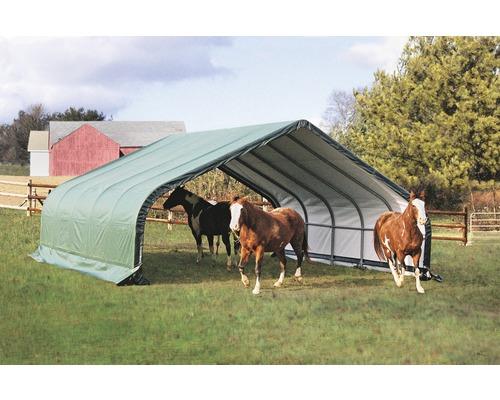 Weidezelt ShelterLogic 730 x 680 cm grün