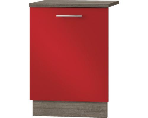 Geschirrspülerblende Optifit Imola Breite 59,6 cm KUIM TL606APL9+ Rot