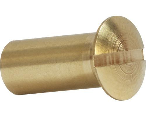 Hülsenmutter 6x14 mm Messing 100 Stück