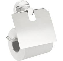 REIKA Toilettenpapierhalter Nagoya mit Deckel chrom