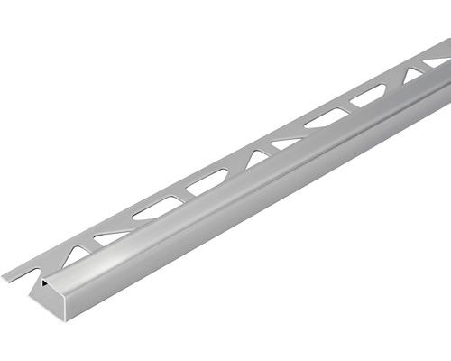 Abschlussprofil Dural Squareline 10 mm Länge 250 cm Edelstahl