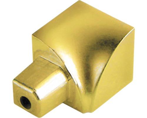 Innenecke Durondell Aluminium eloxiert Gold YI 2 Stück