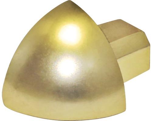 Aussenecke Durondell Aluminium eloxiert Gold Y 2 Stück
