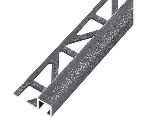 Abschlussprofil Dural Squareline 11 mm Länge 250 cm Aluminium antr.