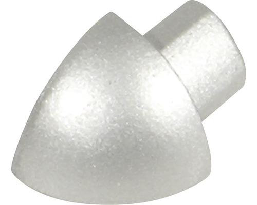 Aussenecke Durondell Aluminium silber eloxiert Y 2 Stück