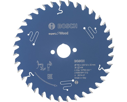 Kreissägeblatt Export for Wood H Ø 150x20 Z 36